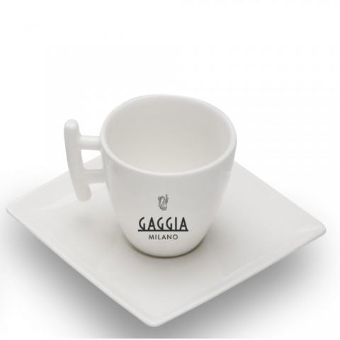 Conjunto com 2 Xícaras e Pires - Gaggia